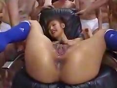 Jap Pussy Bukkake