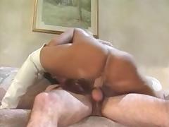 Vintage Cock Riding Pornstar