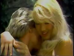 Smoking hot blonde with big tits banged outdoors