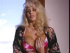 Sexy porn star with long dark hair getting her wet pussy licked and fingered