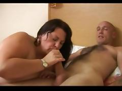 Huge titted mature BBW loves it in pussy and ass
