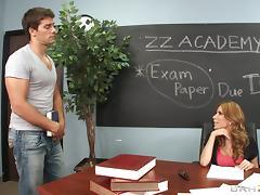 Handsome Jock Bangs His Hot Ass School Teacher Anal Hardcore