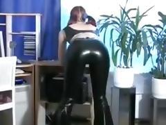 Sexy Redhead Sub Sucks and Bonks