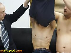 Asian toyed in threeway