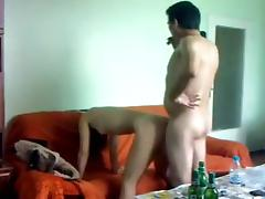 I filmed a horny couple shagging