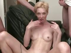 a pair of cocks for a skinny mature