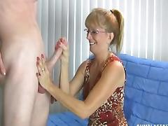 Big Cock, Big Cock, Couple, Cum, Cumshot, Glasses