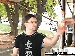 ShemaleThrills Video: Trick1samara