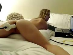This Women Just Loves To Fuck Her New Sex Toy