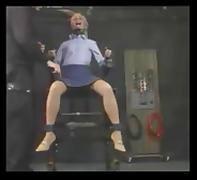 metal chair torture electic bdsm panythose