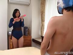 Naughty mature asian wife gives hubby quite a hot work out