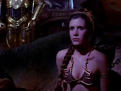Princess Leia Slave Scenes - Carrie Fisher