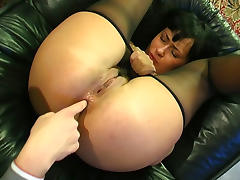 Anal-Pantyhose Movie: Barbara C and Patrick