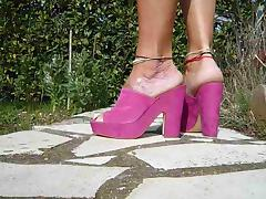 My New High Heel Mules