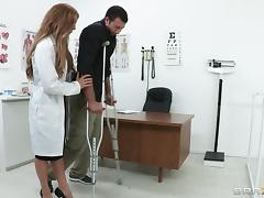 Hot Ass And Naughty Doctor Gets Drilled In A Hardcore Miracle Fuck