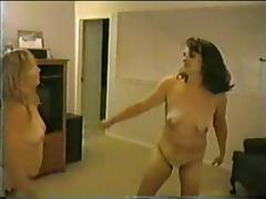 Chubby Amateur Catfight (2)
