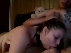 Me and my girlfriend on webcam show