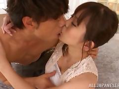 Japanese, Asian, Babe, Blowjob, Bra, Couple