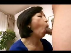 Slutty Japanese cougars having hardcore sex