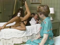 Vintage scene with blowjob