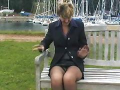 British, Amateur, British, Stockings, UK