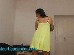 Lap Dancing, Amateur, Audition, Blowjob, Brunette, Casting