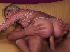 All, Couple, Cowgirl, Cum in Mouth, Fishnet, Hardcore