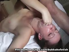Cock-Sucker Drilled On Daybed two