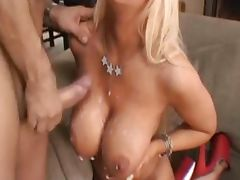 Huge tits porn video