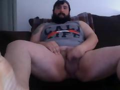 Tattoo Chub Shows Cock and Ink
