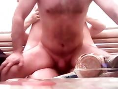 Amateur - Bisex Mature Russian Bareback MMF Threesome