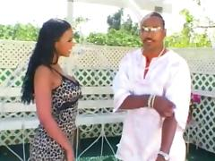 Mr Marcus gets his thick cock sucked by sexy black babe