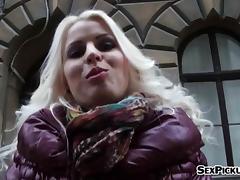 Czech slut Lynna Nilsson fucked in exchange for some cash