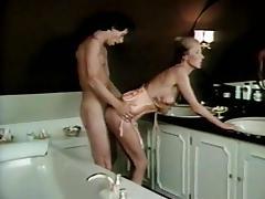 Kathleen Kinski, Brigitte DePalma, Steven Sheldon in vintage xxx scene