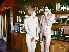 1970, Blowjob, Brunette, Classic, Cunt, Group