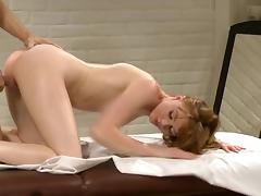 All, Massage, Masturbation, Oil, Redhead, Sex