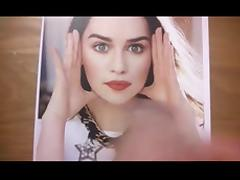 Cum Tribute - Emilia Clarke