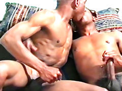 Ty Lattimore and Elijah Jackson in Dark Journey Video