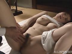 Naughty Japanese housewife enjoys hardcore fucking