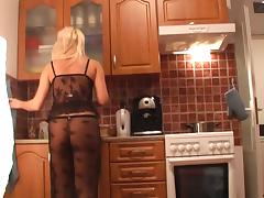 Cindy Dollar in slutty blonde gets shagged in this homemade video