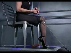Mistress, Femdom, Mistress, Nylon, POV, Shoes