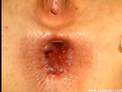 Sweet gaping hottie receives a hot creampie after awesome bang scene