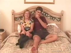 Bed, Amateur, Bed, Blonde, Couple, Fucking