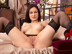 Michelle Khan in First Timer Scene