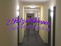 PrettyNina - two Putzschlampen schleppen Hotelgast ab!