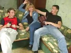 Young, Amateur, Blonde, Blowjob, Hardcore, Jeans