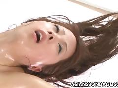 Kinky babe in bondage is into BDSM