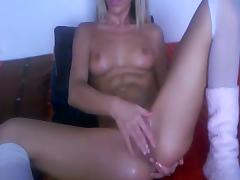lesbian camshow hot blondes sexy playing fingering