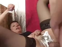 Mature Gets Shaved For a Job, Gets Busted By Her Old Man