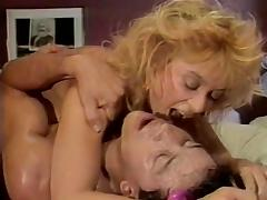 Ginger Lynn Allen, Kristara Barrington, Erica Boyer in vintage porn site